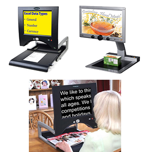 video magnifiers